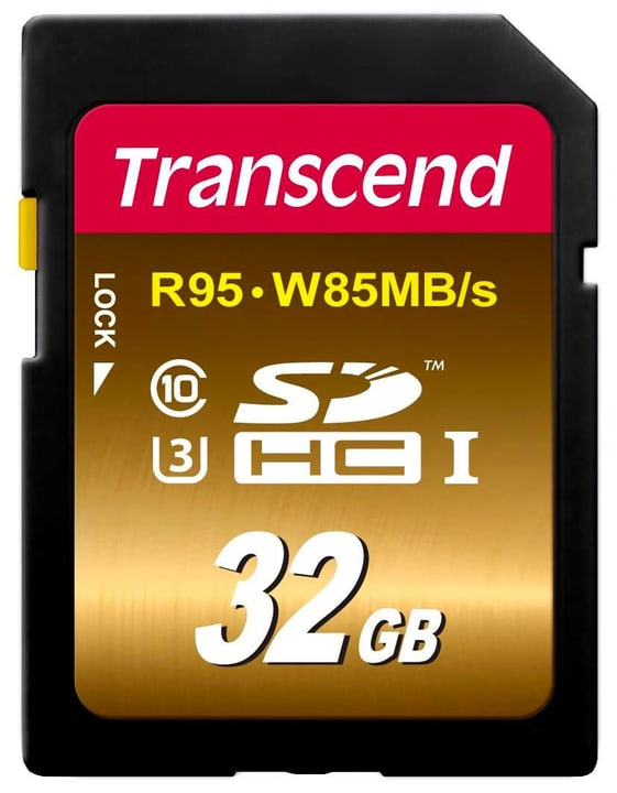 SDHC Card Ultimate R95/W85, Class10, 32GB Transcend 785300126734 N. figura 1