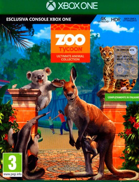 Xbox One - Zoo Tycoon Ultimate Animal Collection Box 785300129969 N. figura 1