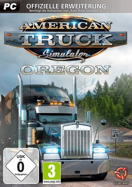 PC - American Truck Simulator - DLC Pack: Oregon D Box 785300139044 Photo no. 1