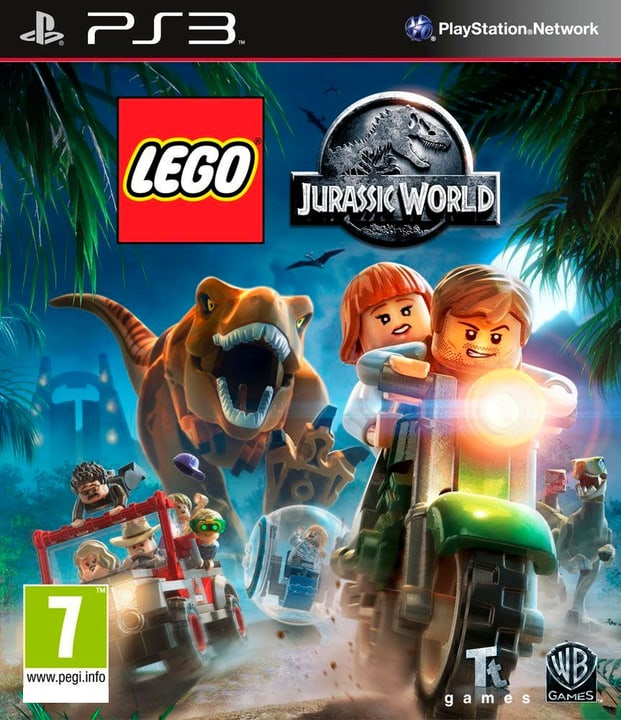PS3 - Lego Jurassic World 785300121707