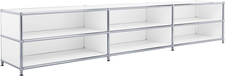 FLEXCUBE Buffet bas 401813730110 Dimensions L: 227.0 cm x P: 40.0 cm x H: 44.5 cm Couleur Blanc Photo no. 1