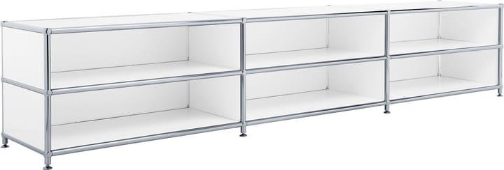 FLEXCUBE Buffet 401813730110 Dimensioni L: 227.0 cm x P: 40.0 cm x A: 44.5 cm Colore Bianco N. figura 1