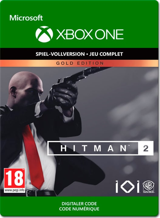 Xbox One - Hitman 2 - Gold Edition Download (ESD) 785300140092 N. figura 1