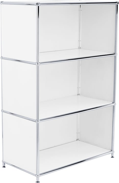 FLEXCUBE Buffet haut 401808600010 Dimensions L: 77.0 cm x P: 40.0 cm x H: 118.0 cm Couleur Blanc Photo no. 1