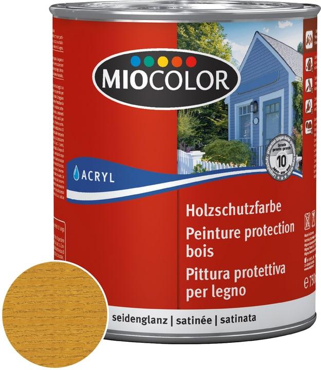 Acryl Holzlasur Eiche 750 ml Miocolor 661119200000 Farbe Eiche Inhalt 750.0 ml Bild Nr. 1