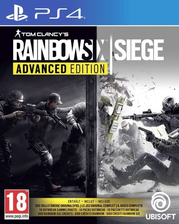 PS4 - Rainbow Six Siege - Advanced Edition Box 785300132491 Photo no. 1