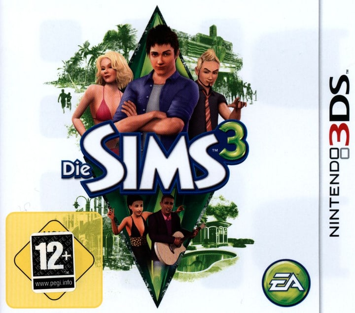 3DS - Die Sims 3 Box 785300121564 Photo no. 1
