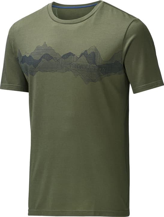 Wesley Herren-Kurzarmshirt Trevolution 462767000567 Farbe olive Grösse L Bild-Nr. 1
