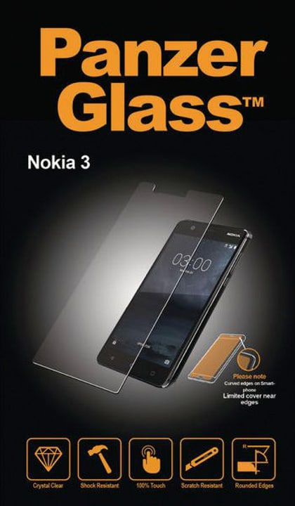 Classic Nokia 3 Panzerglass 785300134527 Bild Nr. 1