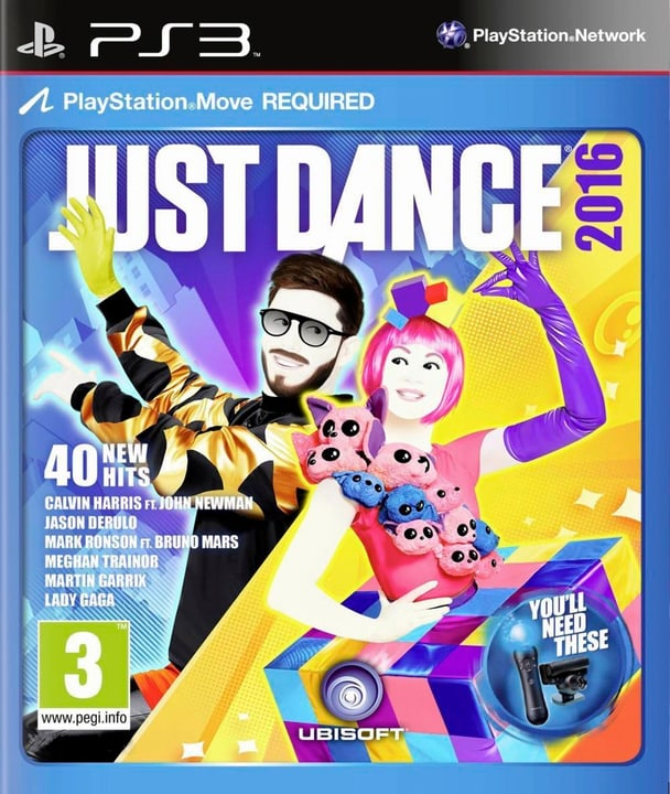 PS3 - Just Dance 2016 785300120279 Photo no. 1
