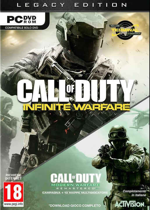 PC - Call of Duty: Infinite Warfare - Legacy Edition Physique (Box) 785300121590 Photo no. 1