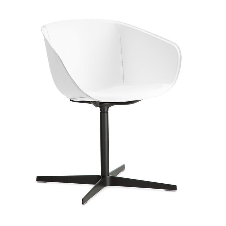 SEDIA Chaise avec accoudoirs 366172800000 Couleur Blanc Dimensions L: 45.0 cm x P: 58.0 cm x H: 82.0 cm Photo no. 1