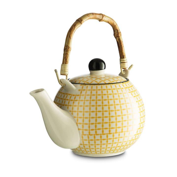 MIYOKO Teapot weiss/gelb 20x10cm 393147800000 Bild Nr. 1