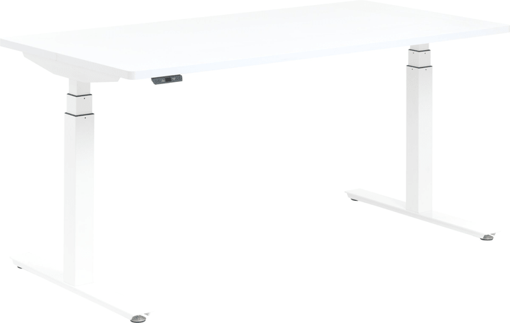 FLEXCUBE Bureau 401838100000 Dimensions L: 180.0 cm x P: 80.0 cm x H: 75.0 cm Couleur Blanc Photo no. 1