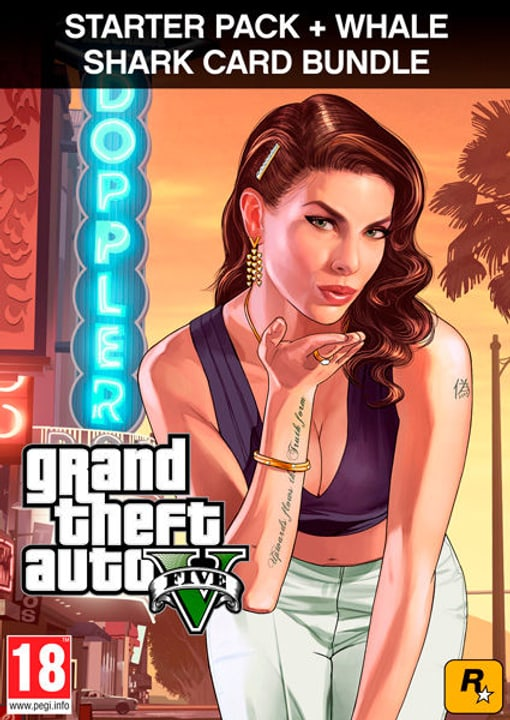 PC - Grand Theft Auto V Criminal Enterprise Starter Pack and Whale Shark Card Download (ESD) 785300133686 N. figura 1