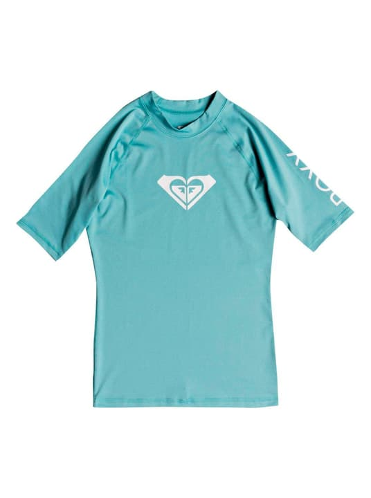 Whole Hearted - Kurzarm UPF 50  Rash Vest für Frauen T-shirt de surf pour femme Roxy 463119900644 Couleur turquoise Taille XL Photo no. 1