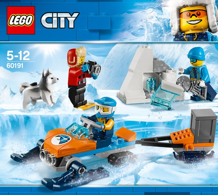 Lego City Arktis-Expeditionsteam 60191 748882700000 Bild Nr. 1