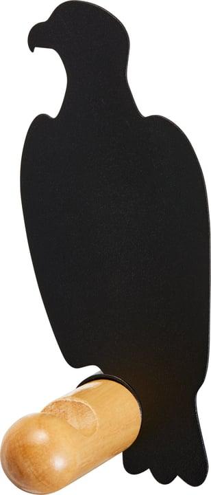 NELSON Gancio per abiti 407332200120 Dimensioni L: 4.8 cm x P: 7.5 cm x A: 12.0 cm Colore Nero N. figura 1
