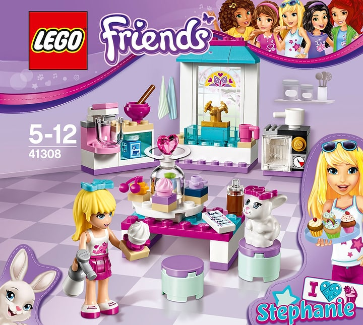 LEGO Friends Les gâteaux de l'amitié de Stéphanie 41308 748826800000 Photo no. 1