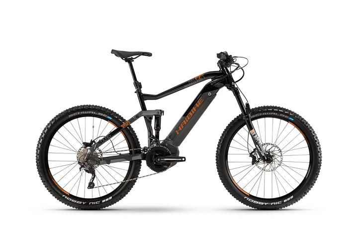 """SDURO FullSeven LT 6.0 27.5"""" E-Mountainbike Haibike 463354104090 Rahmengrösse 40 Farbe titan Bild Nr. 1"""
