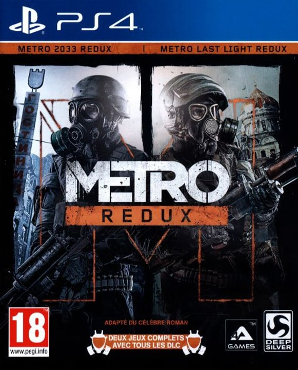 PS4 - Metro Redux Physique (Box) 785300121818 Photo no. 1