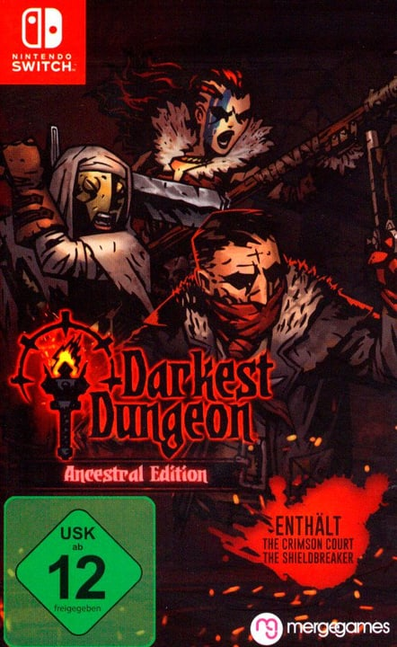 Switch - Darkest Dungeon: Crimson Edition (D) Fisico (Box) 785300132063 N. figura 1