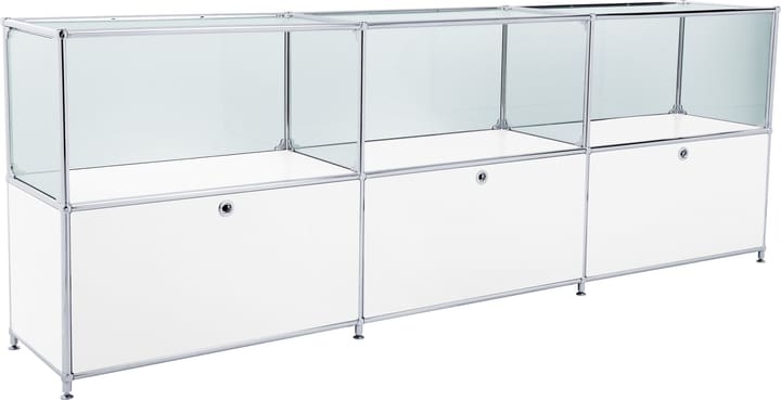 FLEXCUBE Buffet 401814530210 Dimensions L: 227.0 cm x P: 40.0 cm x H: 80.5 cm Couleur Blanc Photo no. 1