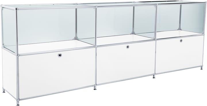 FLEXCUBE Sideboard 401814530210 Grösse B: 227.0 cm x T: 40.0 cm x H: 80.5 cm Farbe Weiss Bild Nr. 1