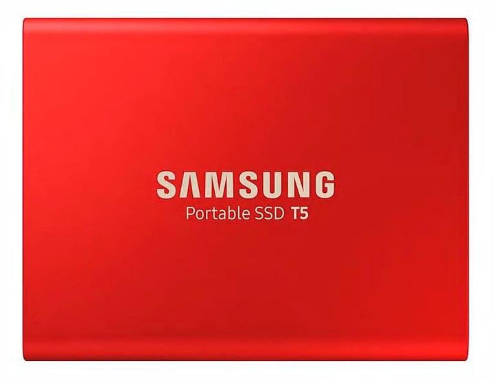 Portable SSD T5 1TB Metallic Red SSD Extern Samsung 785300144521 Bild Nr. 1