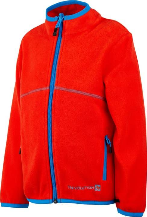 Giacca in pile da bambino Trevolution 472348810434 Colore arancio Taglie 104 N. figura 1