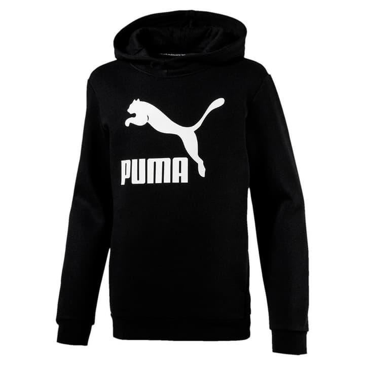 Classic Hoody Sweat-shirt à capuche pour garçon Puma 464533212820 Couleur noir Taille 128 Photo no. 1