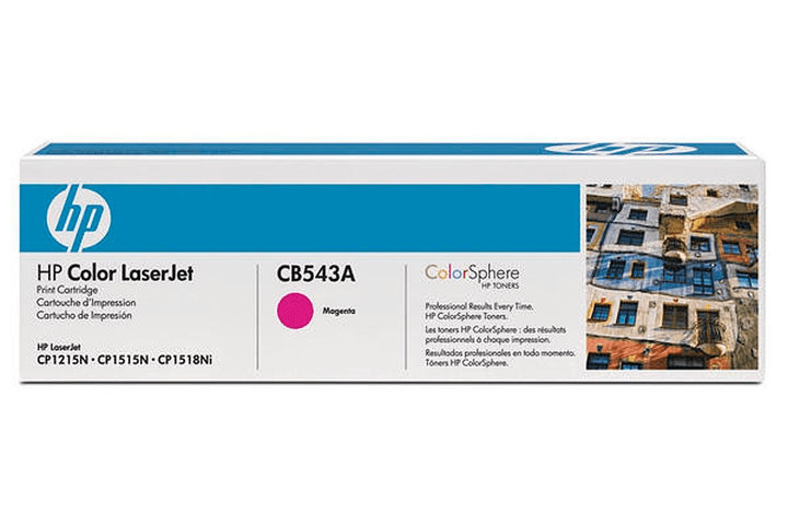 Toner-Modul CB543A magenta HP 797505500000