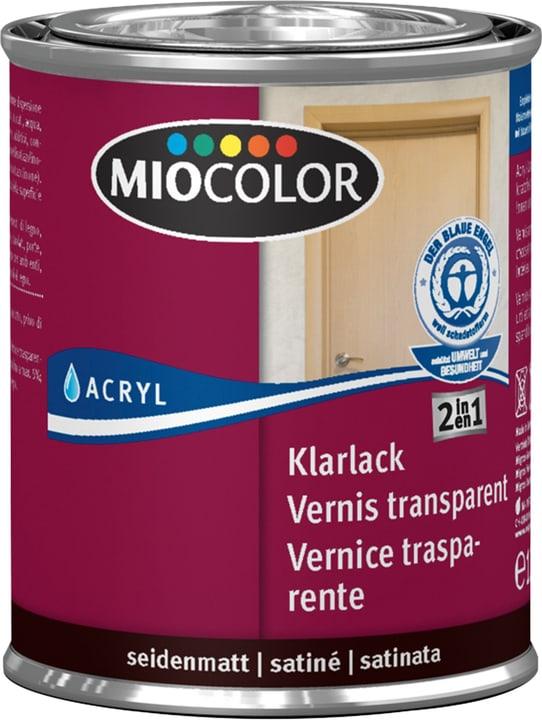 Vernice acrilica trasparente opaca Incolore 125 ml Miocolor 660561400000 Colore Incolore Contenuto 125.0 ml N. figura 1