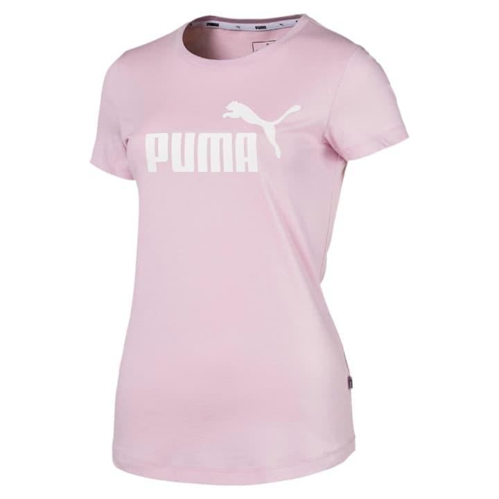 Elevated Ess Logo Tee Maglietta da donna Puma 462394900438 Colore rosa Taglie M N. figura 1