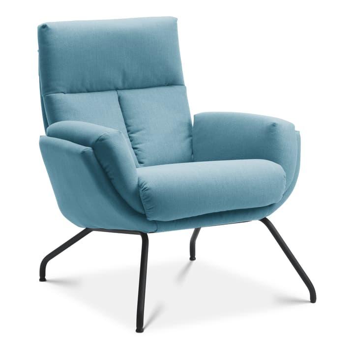 LISIAS Fauteuil 360435607041 Dimensions L: 82.0 cm x P: 88.0 cm x H: 90.0 cm Couleur Bleu clair Photo no. 1