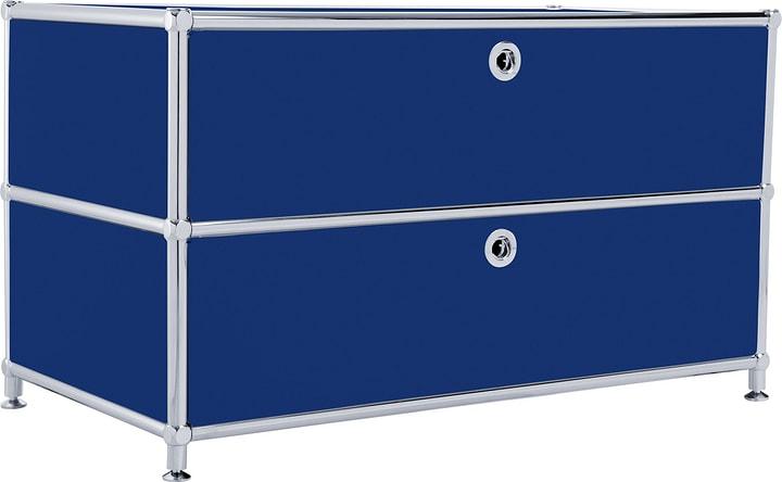 FLEXCUBE Buffet bas 401813610140 Dimensions L: 77.0 cm x P: 40.0 cm x H: 44.5 cm Couleur Bleu Photo no. 1