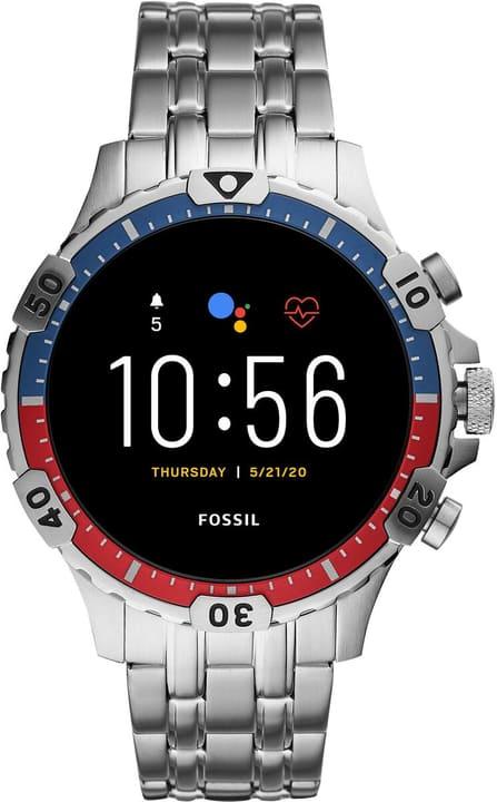 Garrett HR Acier Inoxydable Argent 46mm Smartwatch Fossil 785300151287 Photo no. 1