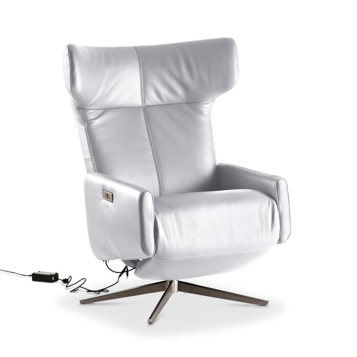 CARDIFF Sessel 360056097704 Grösse B: 77.0 cm x T: 175.0 cm x H: 112.0 cm Farbe Weiss Bild Nr. 1