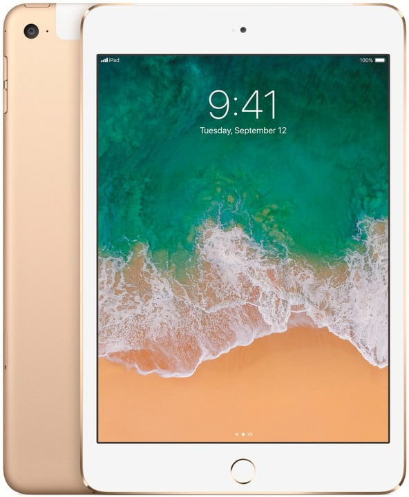 iPad mini 4 LTE 128GB gold Apple 797877600000 Bild Nr. 1