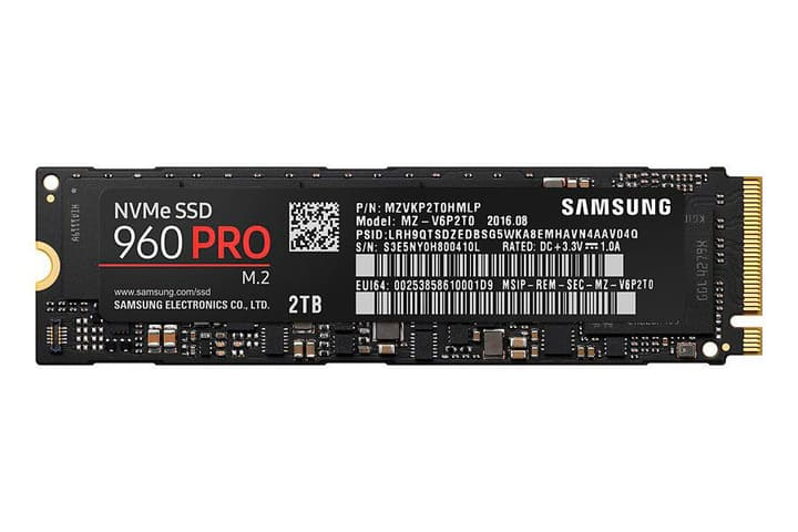 SSD 960 Pro 2TB M.2 2280 Disque Dur Interne SSD Samsung 785300125104 Photo no. 1