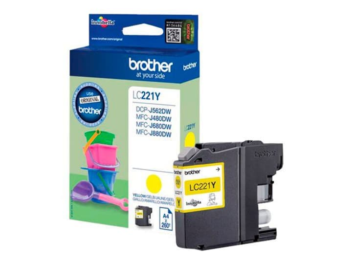 LC-221Y Cartouche d'encre jaune Brother 785300124048 Photo no. 1