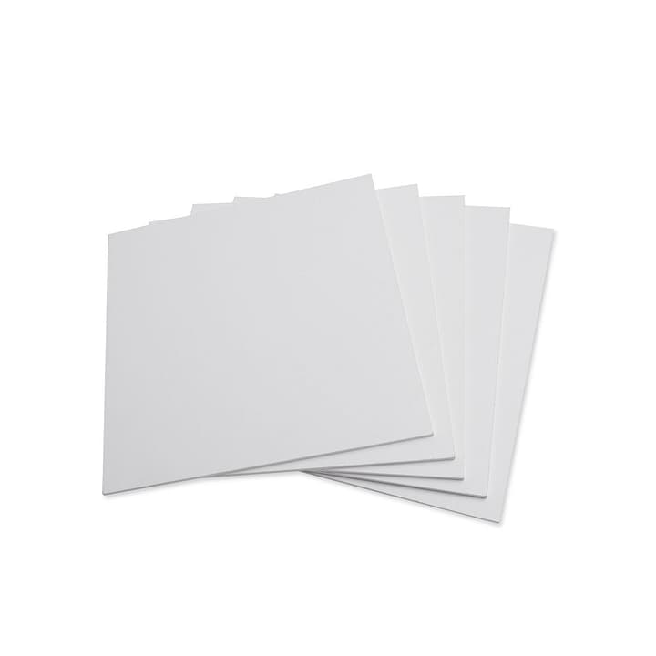 HURLEY Set de rayons 362009107403 Dimensions L: 16.0 cm x P: 16.0 cm x H: 0.3 cm Couleur Blanc Photo no. 1