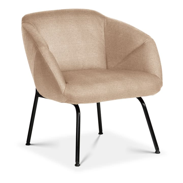 FOILD Sessel Edition Interio 360441407074 Grösse B: 74.0 cm x T: 66.0 cm x H: 76.0 cm Farbe Beige Bild Nr. 1