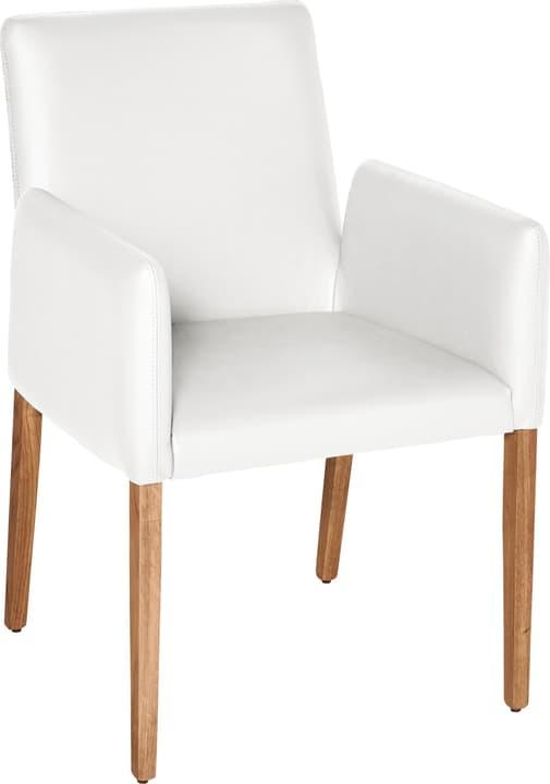 PIRAS Chaise 402358000010 Dimensions L: 58.0 cm x P: 55.0 cm x H: 86.0 cm Couleur Blanc Photo no. 1