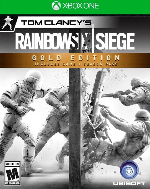 Xbox One - Rainbow Six Siege Gold Fisico (Box) 785300121980 N. figura 1