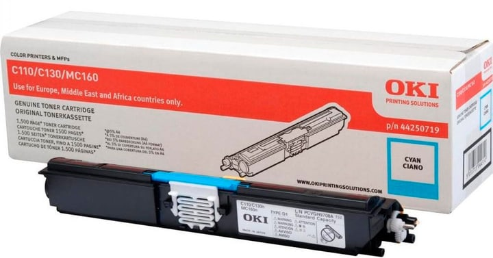 44250719 Toner Cyan Cartouche toner OKI 796048500000 Photo no. 1