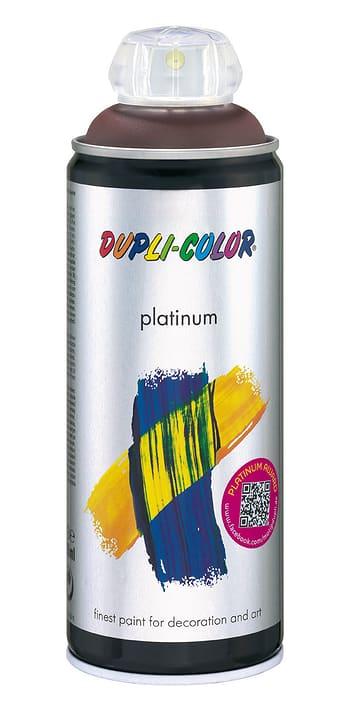 Vernice spray Platinum opaco Dupli-Color 660800200010 Colore Marrone cioccolato Contenuto 400.0 ml N. figura 1