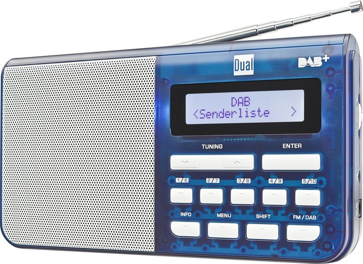 DAB 4.1 T - Blau DAB+ Radio Dual 773021300000 Bild Nr. 1