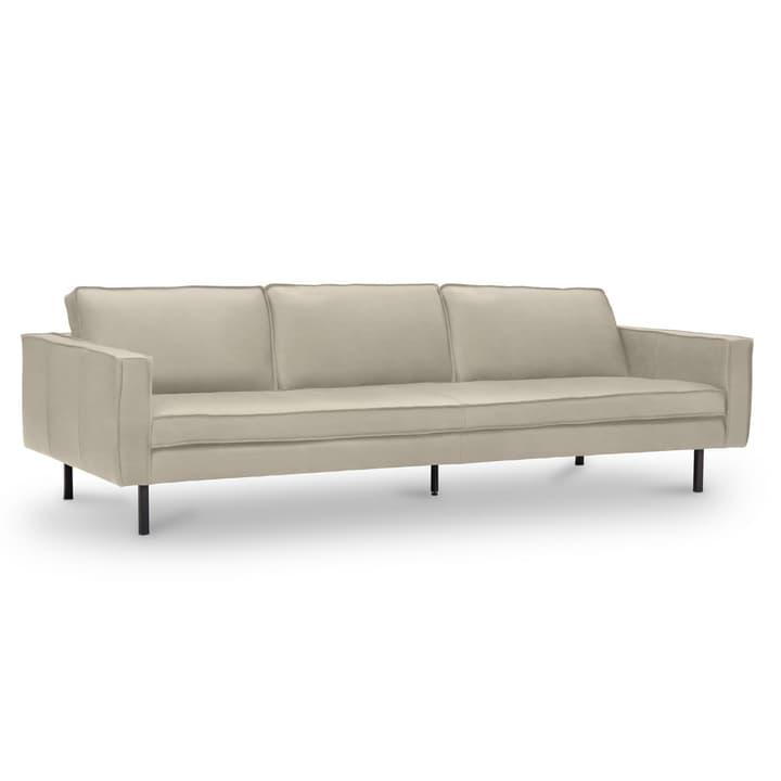 TEXADA canapé en cuir à 4 places 360020328702 Dimensions L: 241.0 cm x P: 95.0 cm x H: 61.0 cm Couleur Beige Photo no. 1