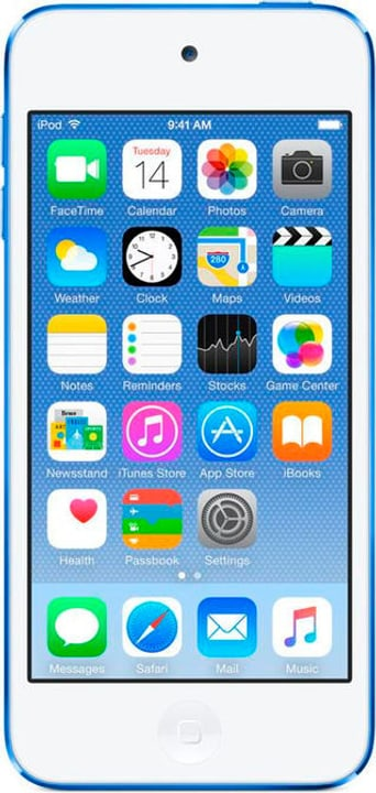 iPod Touch 6G 128GB - Bleu Mediaplayer Apple 785300129596 Photo no. 1
